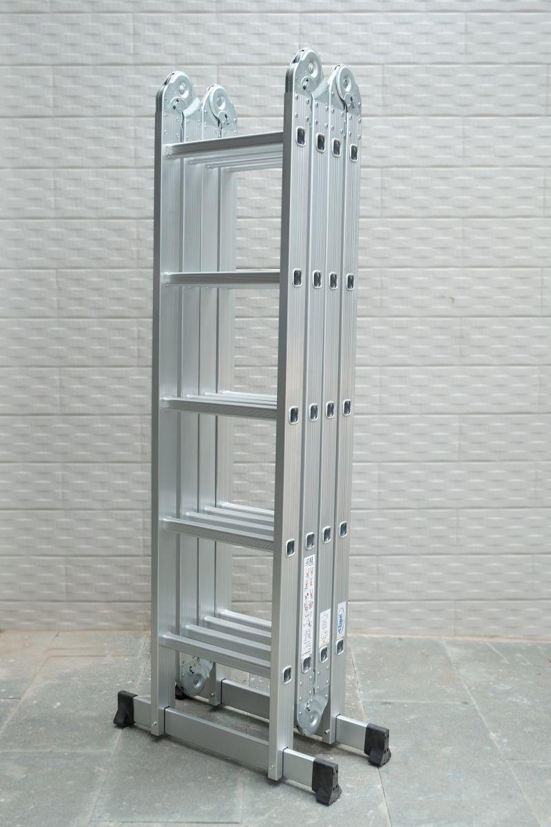 Thang Nhôm Gấp Khúc Đa Năng 4 Đoạn Kagami KT-37M (3,7m) Chân Thẳng - copy - copy