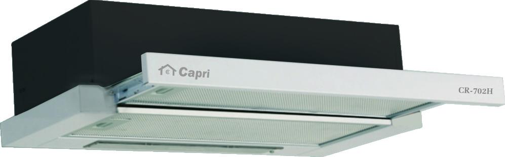 Máy hút và khử mùi âm tủ Capri CR-702H